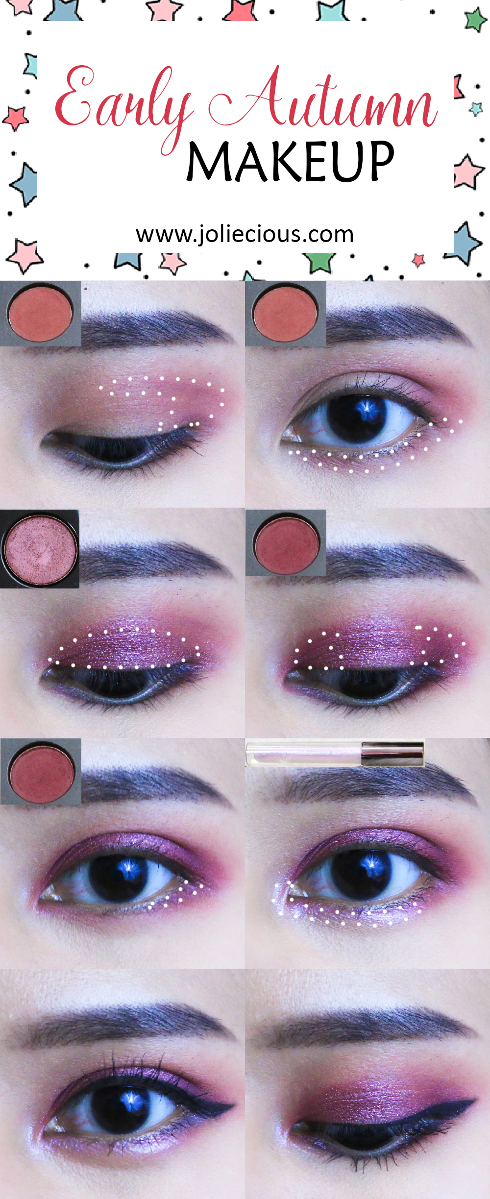 Joliecious-Early Autumn Makeup Tutorial