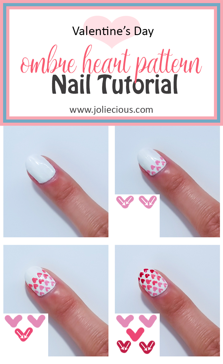 Easy Valentine's Day Nail Tutorials
