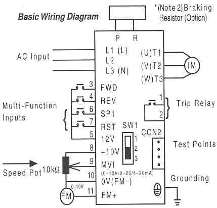 variable frequency drive wiring diagram  rusi motorcycle