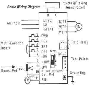 Joliet Technologies – Saftronics S10 – Basic Wiring Diagram