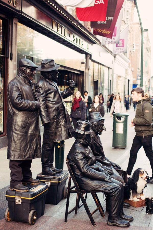 human-statues-dublin