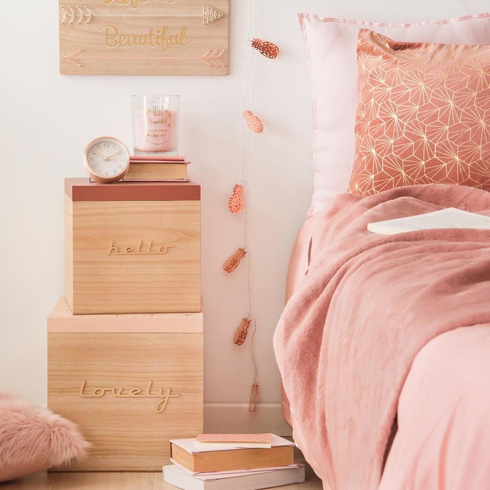 bloomingville chambre rose blush