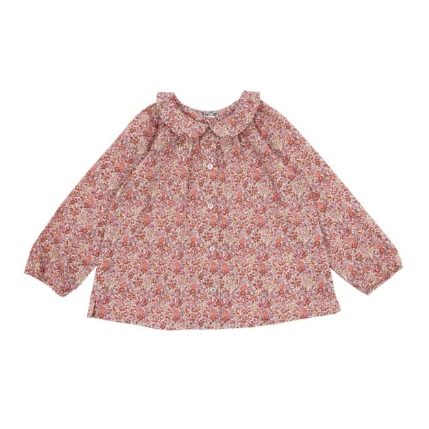 Liberty Smallable Blouse Bonton