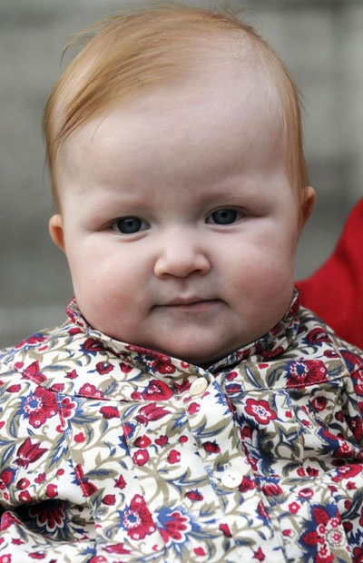 2008 photo of Princess Eleonore of Belgium