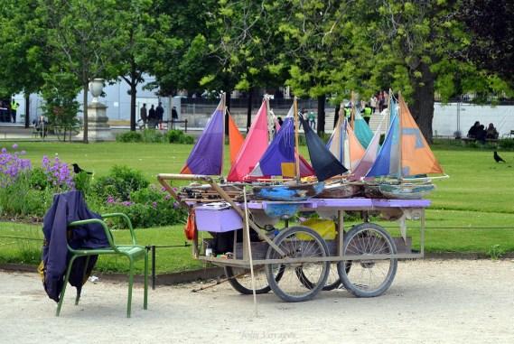 Balade au Jardin des Tuileries