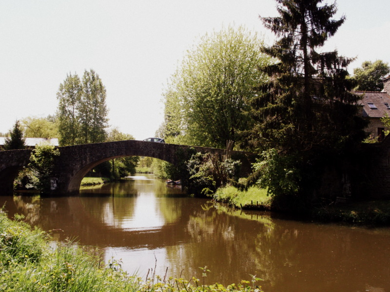 Chemin de halage au depart de Lehon Cotes Armor (4)
