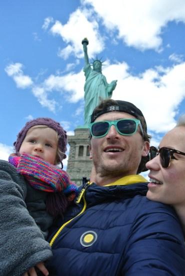 séjour à New York en famille