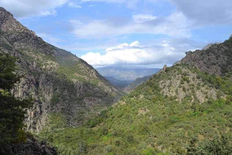 tyrotrekking en Corse