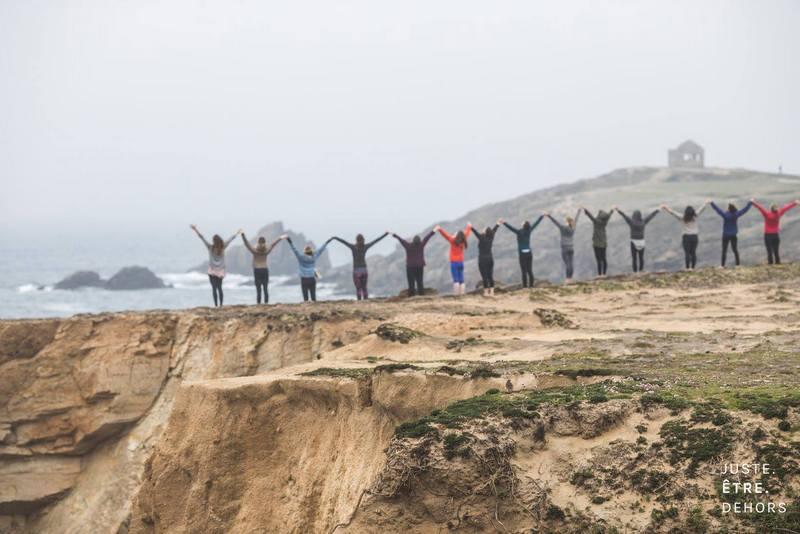 premiere retraite bien-etre #Yoga #Quiberon #Morbihan #Cotesauvage #Bretagne