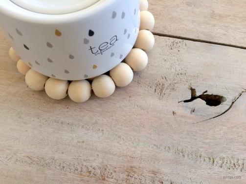 DIY dessous de plat perles bois - Joli Tipi (3)