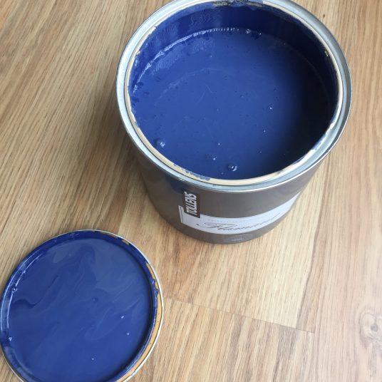 Peinture bleue Old Denim tollens
