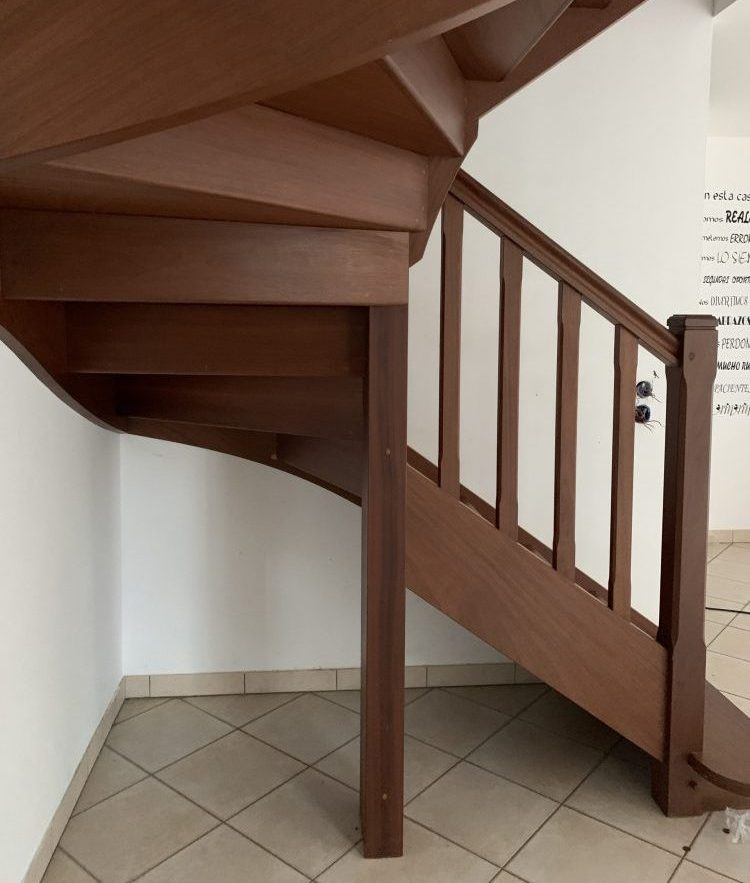 escaliers avant travaux