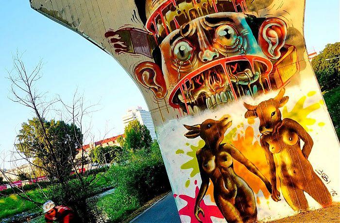 Die Kunst Der Strasse Graffiti In Wien
