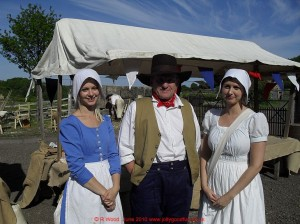 Beamish Museum, realistic costumes