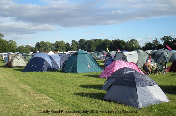 Deer Shed Festival campers