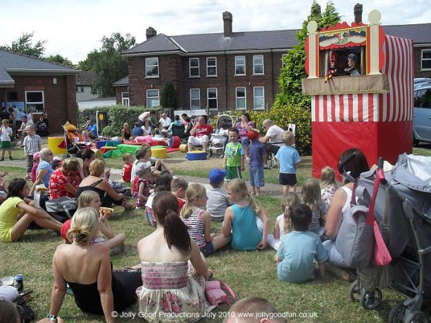 Punch and Judy at RAF Waddington