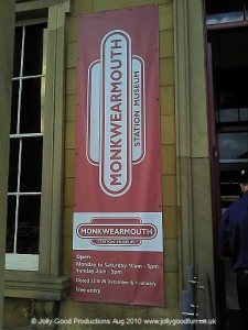 Monkwearmouth Museum Sign