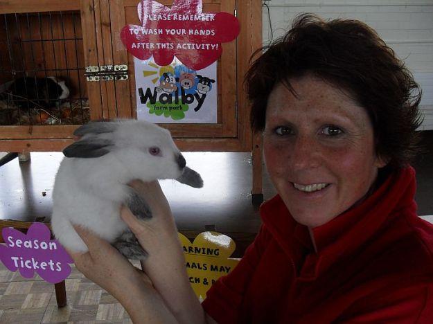 Jane Docksey from Walby Farm Park