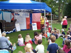Children's Tent at Ripon Festival