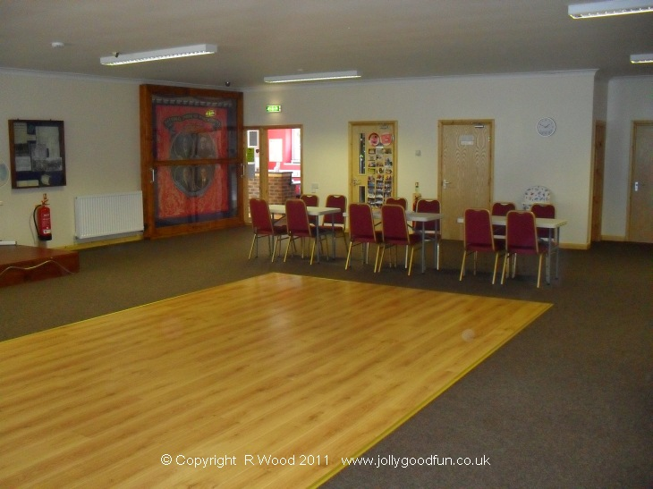 Eldon Community Centre, function room