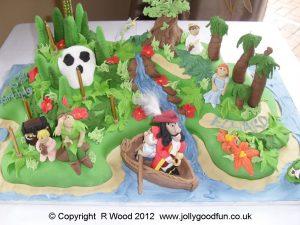 Neverland Birthday Cake