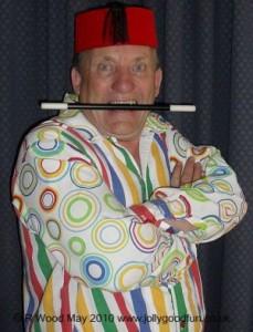 Magician Ron Wood