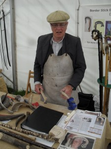 Wilf Laidler, Border Stick Dressers Association