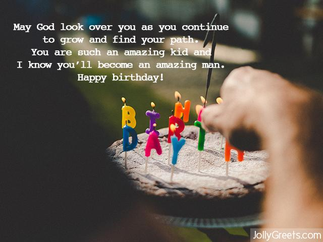 13th Birthday Wishes For Son