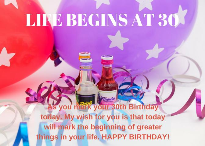 What To Write In A 30th Birthday Wishes Card 30th Birthday Wishes Wishes Messages Sayings