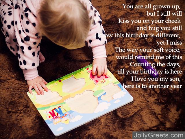 Birthday Poems For Son