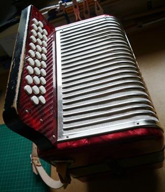 Hohner Corona ADG - keyboard