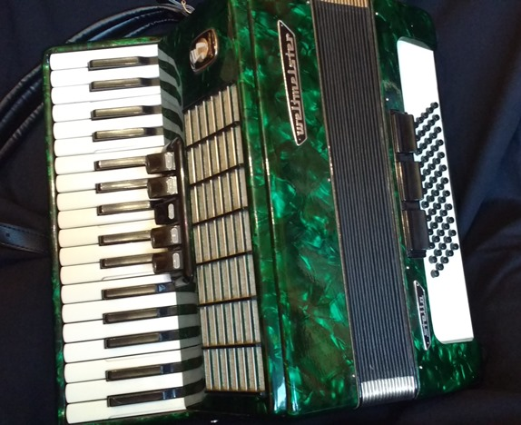 Weltmeister Stella Piano Accordion 34 key