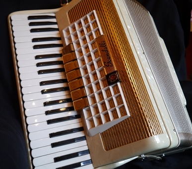 Scandalli 120 bass piano accordion