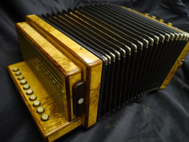 For sale Albrecht one row melodeon in D – £1950