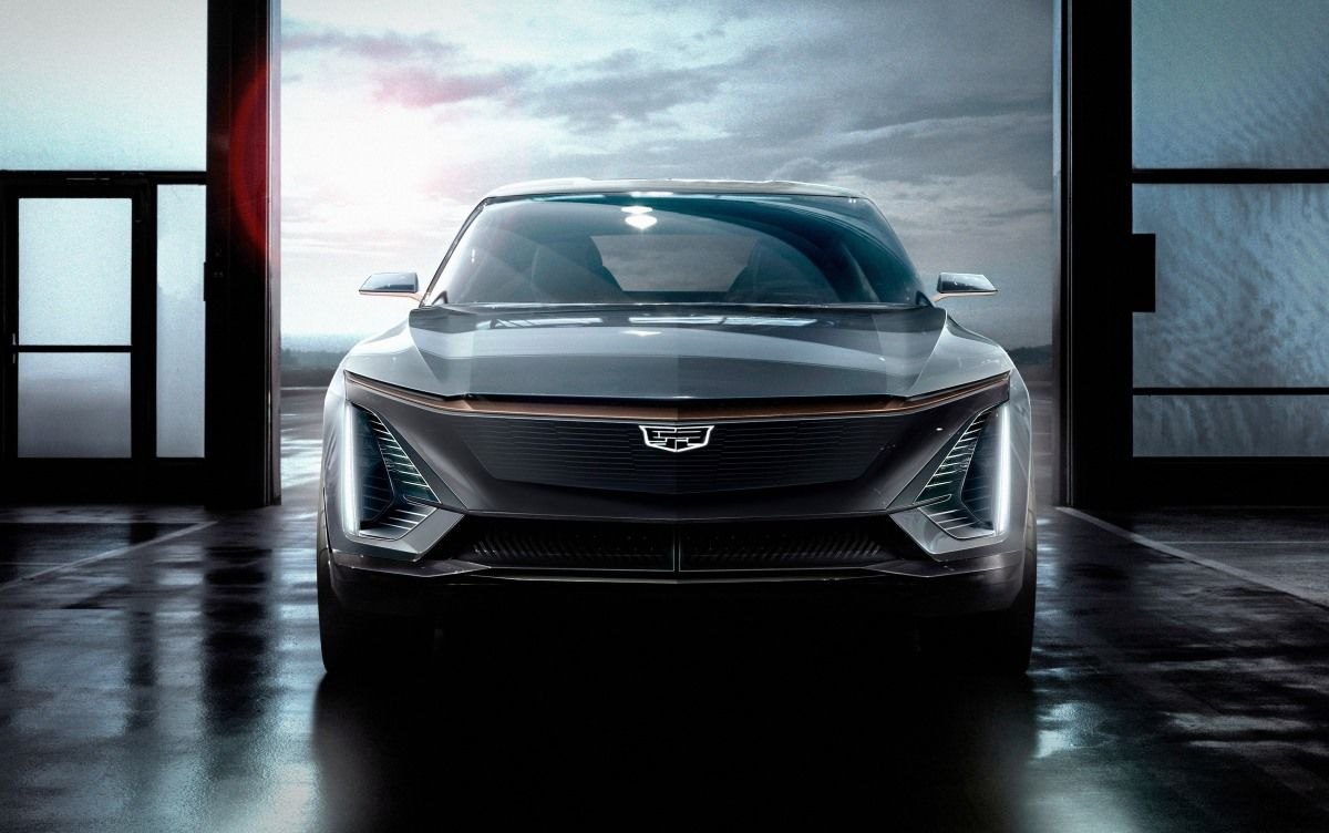 Cadillac shows off its first fully electric vehicle  from the future