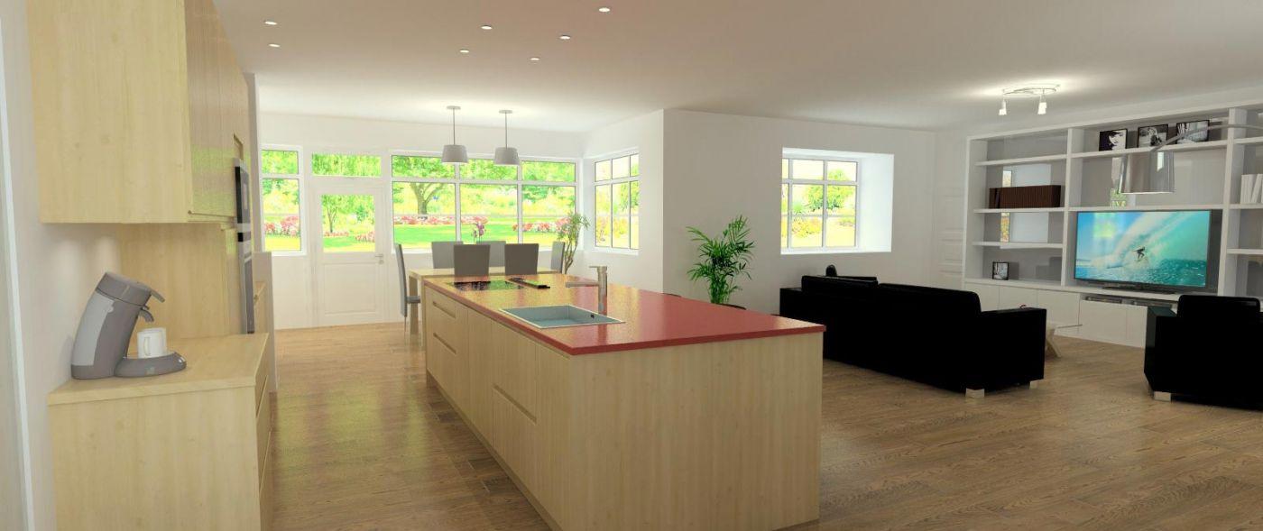 redefinition de l espace cuisine et