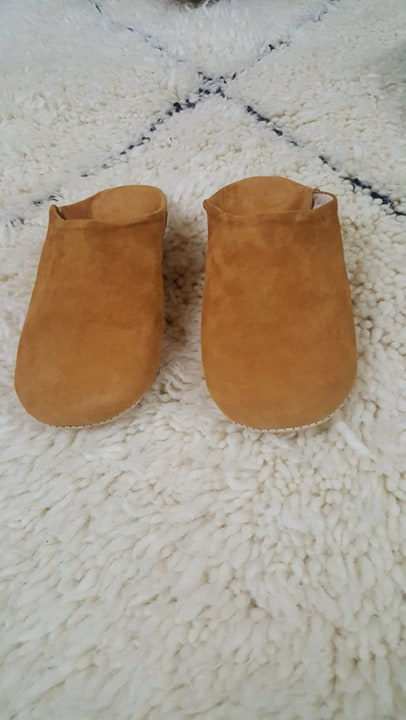 chaussons camel