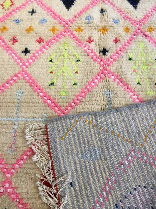 tapis Berbère Azilal détail