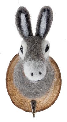 trophée crochet âne