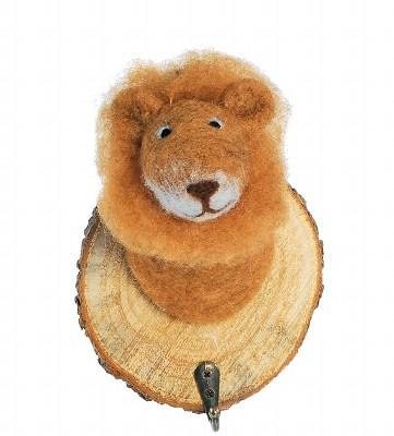 trophée crochet lion