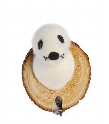trophée crochet phoque