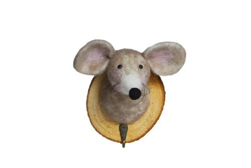 trophée crochet souris