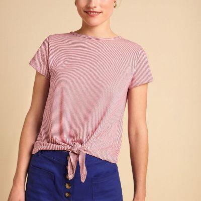 T Shirt en coton à rayures
