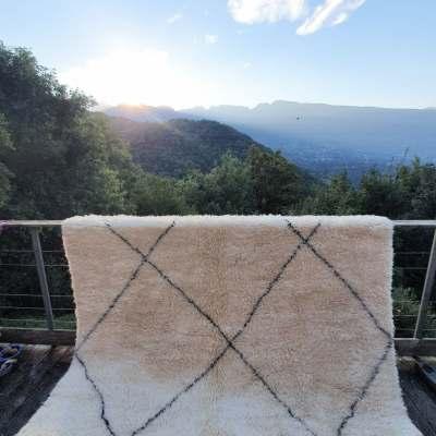 tapis en laine Beni Ouarain
