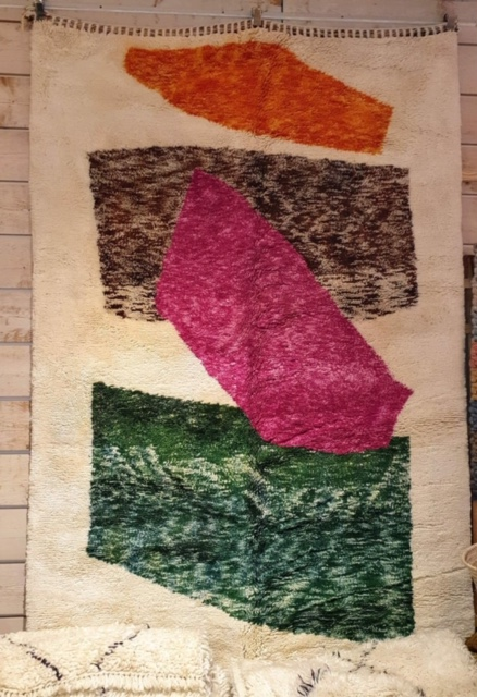 tapis mrirt coloré
