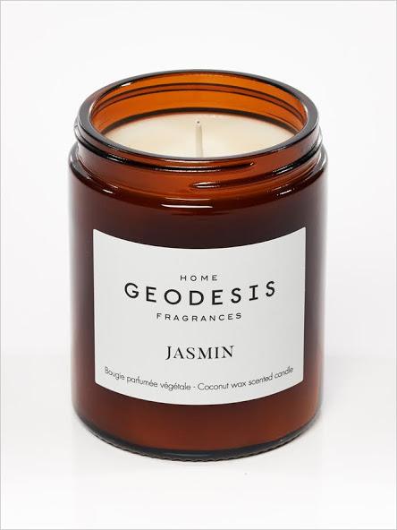 bougie parfumée naturelle jasmin