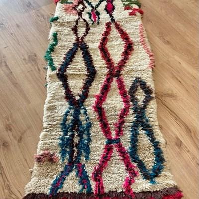 tapis berbère azilal en laine