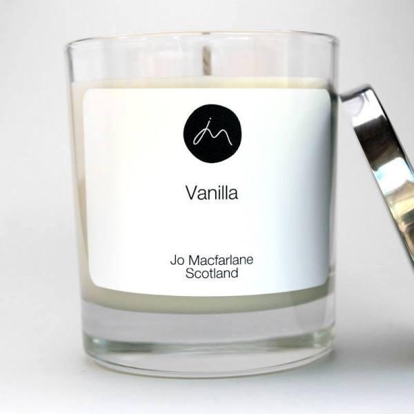 Vanilla Luxury Candle by Jo Macfarlane