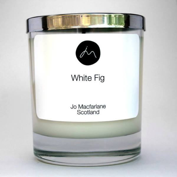White Fig Luxury Candle by Jo Macfarlane