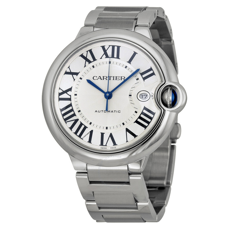 Cartier Ballon Bleu de Cartier Silver Opaline Dial Men s Watch     Cartier Ballon Bleu de Cartier Silver Opaline Dial Men s Watch W69012Z4